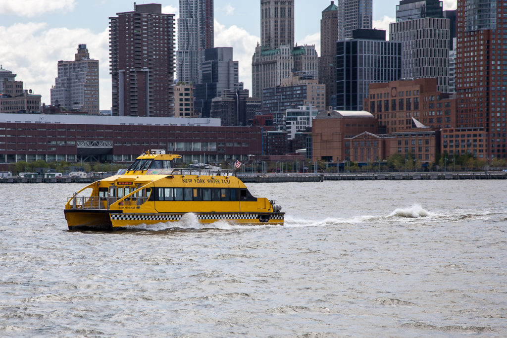 New York Wasser Taxi